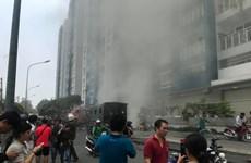 Cháy chung cư Carina: Những người quên mình cứu người trong đám cháy