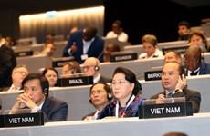 Chủ tịch Quốc hội phát biểu ở Phiên họp toàn thể Đại hội đồng IPU-138