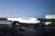 Hãng Air France của Pháp lại hủy 25% số chuyến bay vì đình công