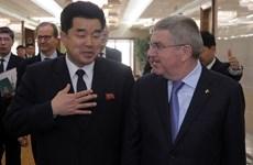 Chủ tịch IOC Thomas Bach gặp giới chức thể thao Triều Tiên