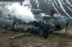 Ấn Độ: Rơi trực thăng quân sự Mi-17 làm nhiều người bị thương