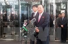 Bộ trưởng Ngoại giao Triều Tiên Ri Yong-ho tới thủ đô Bắc Kinh