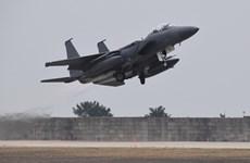 Hai phi công thiệt mạng trong vụ rơi máy bay chiến đấu ở Hàn Quốc