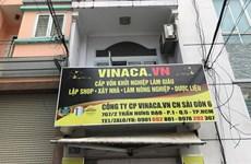 TP.HCM thu giữ nhiều sản phẩm không nguồn gốc của Công ty Vinaca
