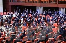 Quốc hội Thổ Nhĩ Kỳ ấn định tổng tuyển cử trước thời hạn