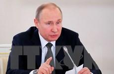 Tổng thống Nga Vladimir Putin ký sắc lệnh sa thải nhiều tướng lĩnh