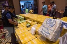 Cảnh sát Thái Lan thu giữ lượng ma túy trị giá 45 triệu USD