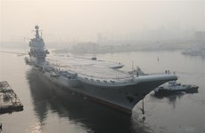 Tàu sân bay Trung Quốc sản xuất hoàn tất chuyến thử nghiệm trên biển