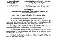 Thanh Hóa thưởng nóng Ban chuyên án phá vụ vận chuyển 60 bánh heroin