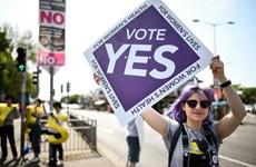 Đa số người dân Ireland đồng ý hủy bỏ luật cấm phá thai