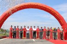 Khánh thành cầu Cao Lãnh, cầu lớn thứ ba vượt qua sông Tiền