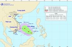 Vùng áp thấp trên Biển Đông đang mạnh lên, nguy cơ cao xảy ra lũ quét