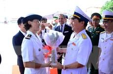 Tàu Hải quân Pháp thăm hữu nghị Thành phố Hồ Chí Minh