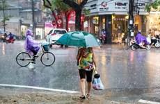 Đêm 4/6, thủ đô Hà Nội nhiều mây, có mưa rào và dông rải rác