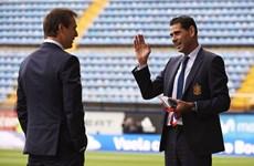 Fernando Hierro thay thế Lopetegui dẫn dắt tuyển Tây Ban Nha