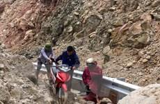 Lai Châu: Cảnh báo nguy cơ sạt lở, đá rơi ở huyện vùng cao Sìn Hồ