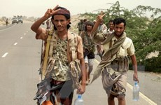 Xung đột tại Yemen: Các lực lượng chính phủ tiến gần tới cảng Hodeida