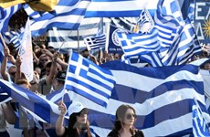 Các nghị sỹ Macedonia thông qua thỏa thuận đổi tên nước