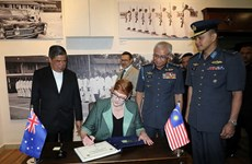 Malaysia-Austraila hợp tác đối phó với thách thức an ninh khu vực