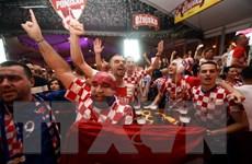 World Cup 2018: Cổ động viên Croatia khuấy đảo tại thủ đô Moskva