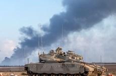 Xe tăng Israel tấn công chốt quân sự của Hamas tại Dải Gaza