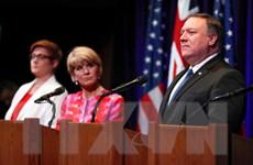 Mỹ-Australia tái khẳng định quyền tự do hàng hải ở Biển Đông