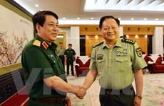 Đoàn cán bộ chính trị cấp cao QĐND Việt Nam thăm hữu nghị Trung Quốc