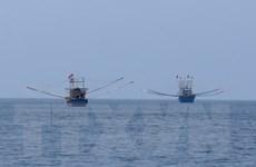 Quảng Nam: 11 ngư dân tàu cá gặp nạn được đưa vào bờ an toàn
