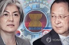 Ngoại trưởng Hàn Quốc và Triều Tiên gặp nhau tại Singapore