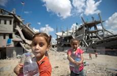 Liên hợp quốc cạn kiệt ngân sách hỗ trợ nhân đạo cho Dải Gaza
