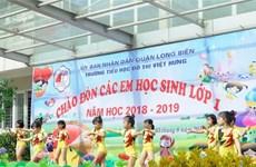 Trường tiểu học đô thị Việt Hưng phải trả lại tiền thu sai định