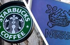 Nestle đạt được thỏa thuận bán càphê của thương hiệu Starbucks