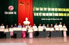 Quảng Trị có 2.653 mẹ được phong và truy tặng Bà mẹ Việt Nam anh hùng
