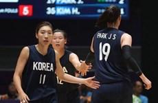 ASIAD 2018: Đội tuyển bóng rổ nữ hai miền Triều Tiên lọt vào chung kết