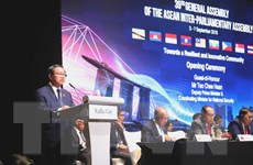 Phó Chủ tịch Quốc hội Đỗ Bá Tỵ tham dự AIPA-39 tại Singapore