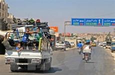 Syria: Hơn 30.000 người ở tỉnh Idlib phải lánh nạn do ném bom