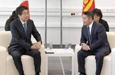 Lãnh đạo Nhật Bản và Mông Cổ hội đàm về vấn đề Triều Tiên