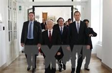 Tổng Bí thư dự Hội nghị Hiệu trưởng các trường đại học Việt-Hungary