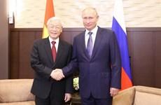 Chuyến thăm của Tổng Bí thư tạo xung lực cho quan hệ Việt-Nga, Hungary