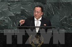 Ngoại trưởng Triều Tiên Ri Yong-ho được Mỹ đón tiếp đặc biệt