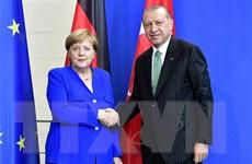 Lãnh đạo Đức-Thổ Nhĩ Kỳ thúc đẩy hợp tác sâu rộng về an ninh