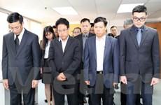 Tổ chức trọng thể lễ viếng nguyên Tổng Bí thư Đỗ Mười tại Hong Kong