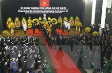 Lễ viếng và mở sổ tang nguyên Tổng Bí thư Đỗ Mười tại Bangladesh