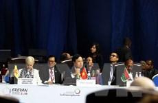 Bế mạc Hội nghị Cấp cao Pháp ngữ lần thứ 17 và bầu Tổng Thư ký mới