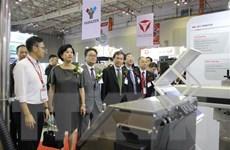 Nhiều doanh nghiệp nước ngoài tham gia Triển lãm quốc tế về cơ khí