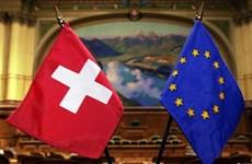 Thụy Sĩ-EU chưa đạt đột phá trong đàm phán định hình quan hệ tương lai