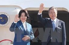 Tổng thống Hàn Quốc bắt đầu chuyến thăm Italy và Tòa thánh Vatican