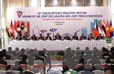 ADMM 12: Tăng cường hợp tác quốc phòng, xây dựng lòng tin thực chất