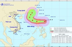 Sáng 30/10, bão Yutu sẽ gây mưa, gió mạnh vùng biển Đông Bắc Biển Đông
