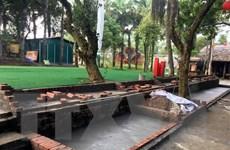 Đóng cửa, tháo dỡ khu sinh thái vi phạm quy hoạch Di tích Đền Hùng